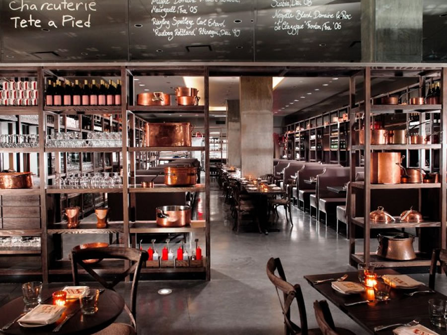 Soho and a bottle of wine brigitte 39 s banter for Kitchen design restaurant