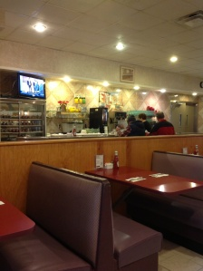 The ambiance in my Big Fat Greek Diner is superb.
