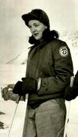 Edith Ronnie, a BIG explorer.  The first woman to explore Antarctica.  I prefer my explorations to be a bit warmer.