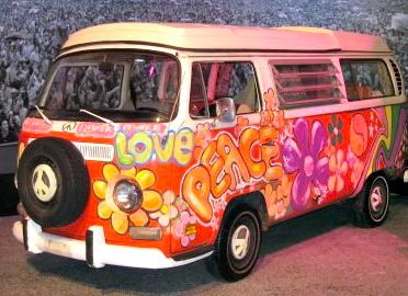 I would like to take a road trip in this.  All tricked out with luxury on the inside, a cappuccino maker and iPod Bose system so I could play Born to Be Wild.  And a mattress and refrigerator.