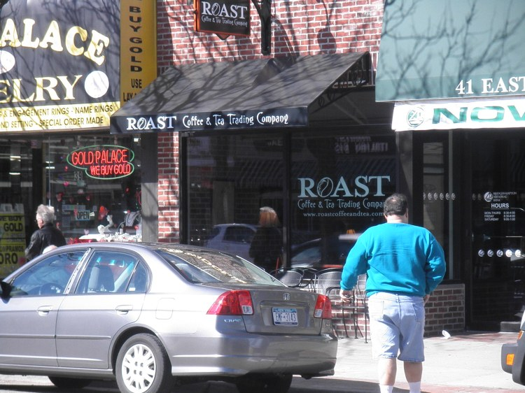 ROAST...on Main Street, front entrance.