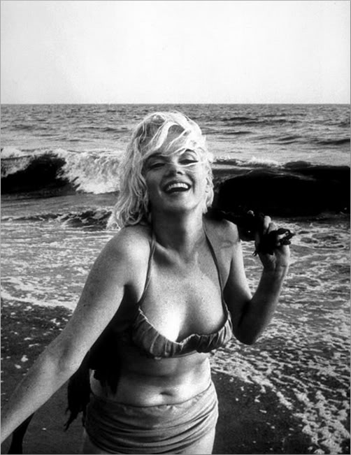 "Marilyn Monroe was one of the first females to bare hers in the movie, Something's Got to Give. She said, ""I guess the censors are willing to recognize that everybody has a navel."" A revelation in those days, apparently."