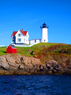 One of my dreams.  This one was visiting a lighthouse in Maine.  I did.  This one.