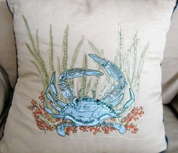 One of my crab pillows.