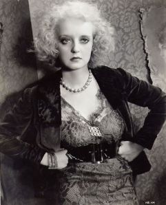 """I'm the nicest goddamn dame that ever lived.  I am just too much.""  Bette Davis I'm with you, Bette.  Nice with attitude."