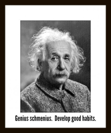 Genius is as Genius Does