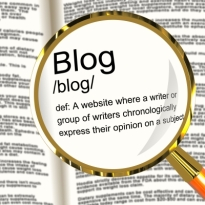 Blog Definition Magnifier by Stuart Miles