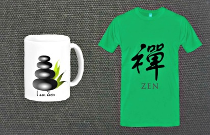 Is Zen in a perfect cup of coffee? A tee-shirt?